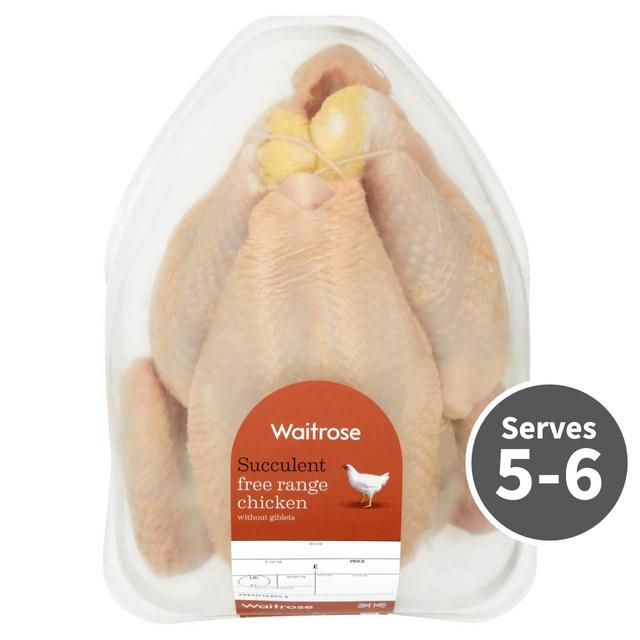 Free Range Whole Chicken Waitrose