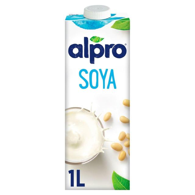 Alpro longlife original soya milk alternative 1l from ocado for Alpro soya cuisine light