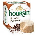 Boursin Cheese with Black Pepper