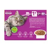 Whiskas 1+ Cat Pouches Poultry in Gravy