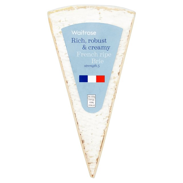 Ripe French Brie Waitrose