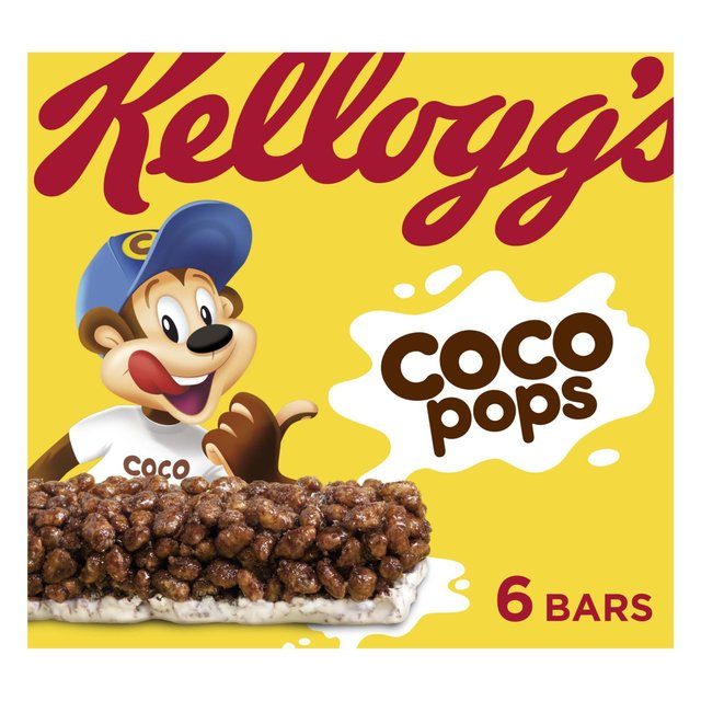 Kellogg's Coco Pops Cereal Milk Bars 6 X 20g From Ocado