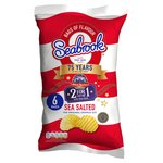 Seabrook Crinkle Cut Sea Salt Crisps 25g x