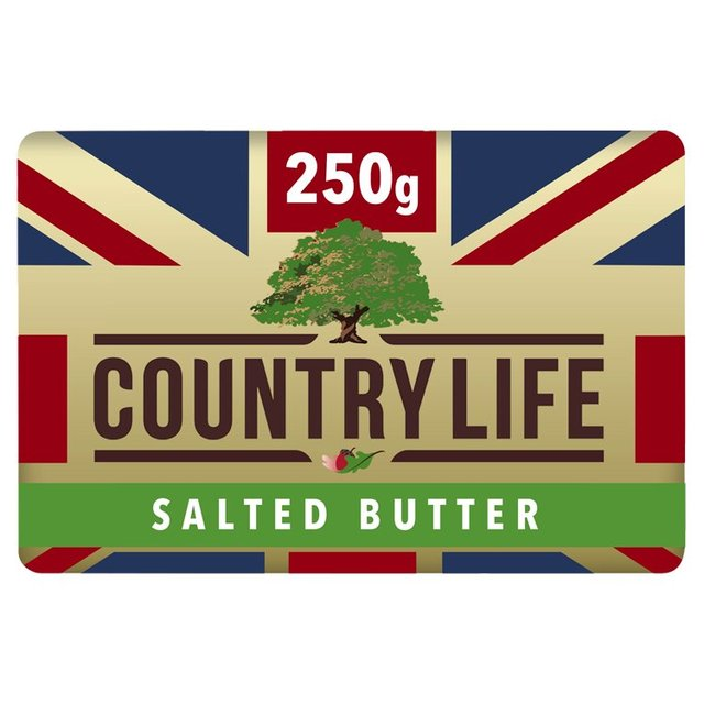 Country Life: Country Life British Salted Butter 250g From Ocado