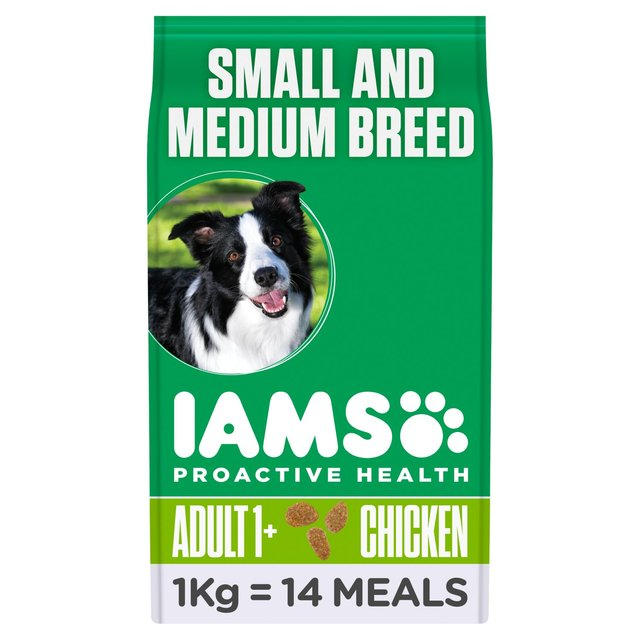 Iams Adult Dry Dog Food Small & Medium Breed