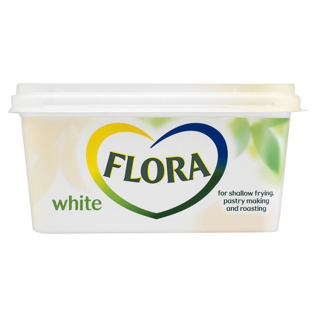 White Flora For Pastry Making