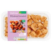 Waitrose Wholetail Scampi in Breadcrumbs
