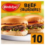 Birds Eye 10 Original Beef Burgers Frozen
