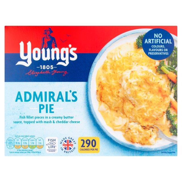 Young's Admiral's Pie Frozen   Ocado