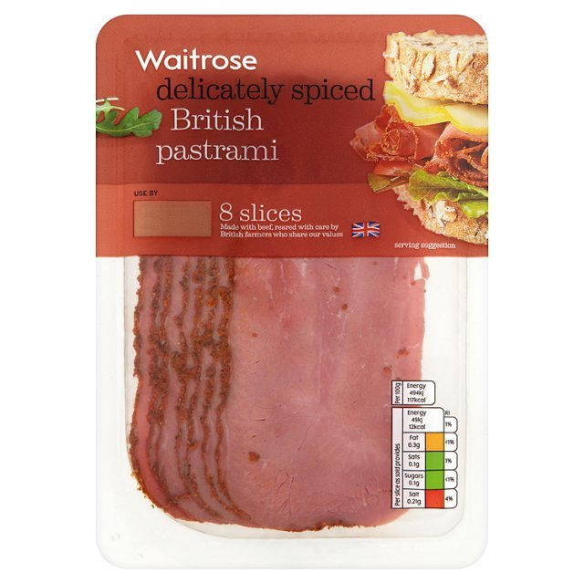 British Pastrami Waitrose