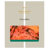 Waitrose 1 Gravadlax with Mustard & Dill