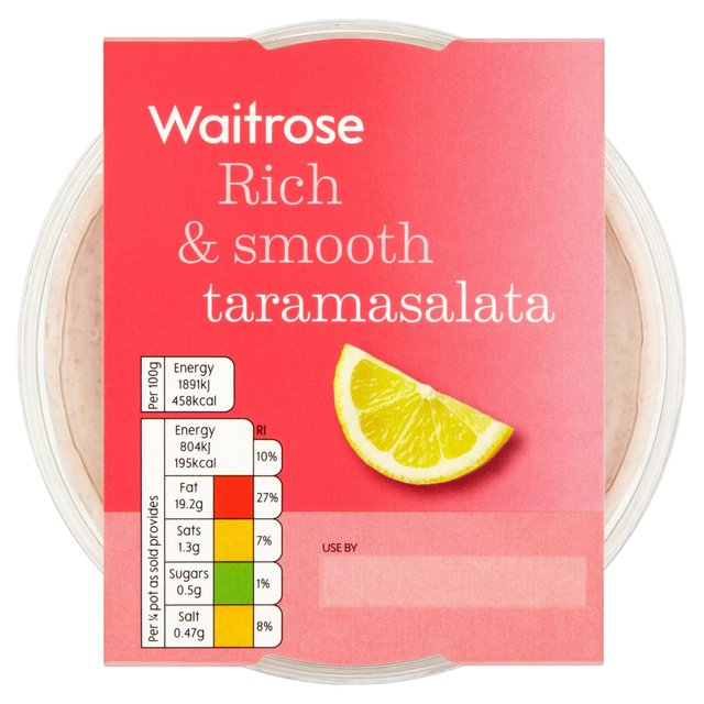 Rich & Smooth Taramasalata Waitrose