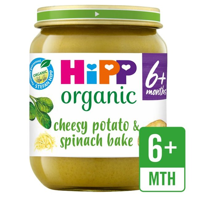 HiPP Organic Cheesy Spinach & Potato Bake