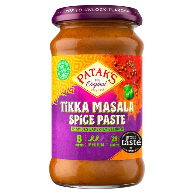 recipe: pataks tikka masala curry sauce [15]