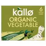 Kallo Organic Vegetable Stock Cubes