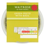 Waitrose Fresh Stir-In Basil Pesto Sauce