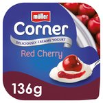 Muller Corner Yoghurt with Red Cherry Compote