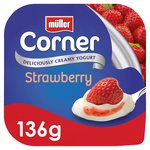 Muller Corner Yoghurt with Strawberry Compote