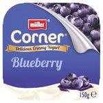 Muller Corner Plain Yoghurt with Blueberry Compote