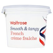 Waitrose French Creme Fraiche Full Fat