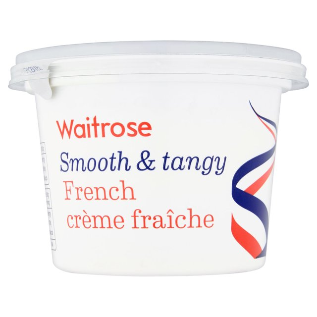 French Creme Fraiche Full Fat Waitrose