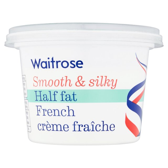 Half Fat French Creme Fraiche Waitrose
