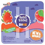 Petits Filous Raspberry & Strawberry Fromage Frais