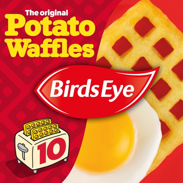 Birds Eye 10 Original Potato Waffles Frozen