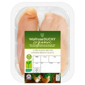 Waitrose Duchy Organic Chicken Breast Fillets