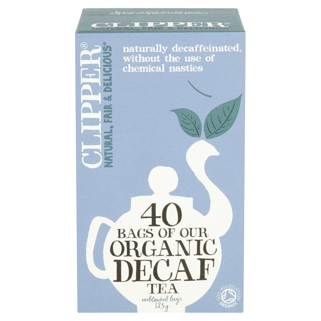 Clipper Organic Naturally Decaffeinated Tea Bags
