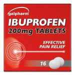 Galpharm Ibuprofen 200mg Coated Tablets 200mg