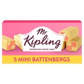 Mr Kipling Small Battenberg Cakes