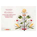 Waitrose Christmas Butter Enriched Mince Pies