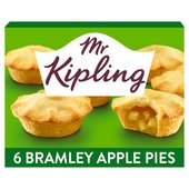 Mr Kipling Deep Filled Bramley Apple Pies