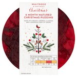 Waitrose 6 Month Matured Christmas Pudding