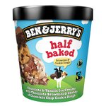 Ben & Jerry's Half Baked Ice Cream 465ml