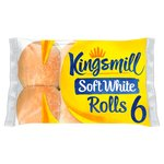 Kingsmill Soft White Rolls