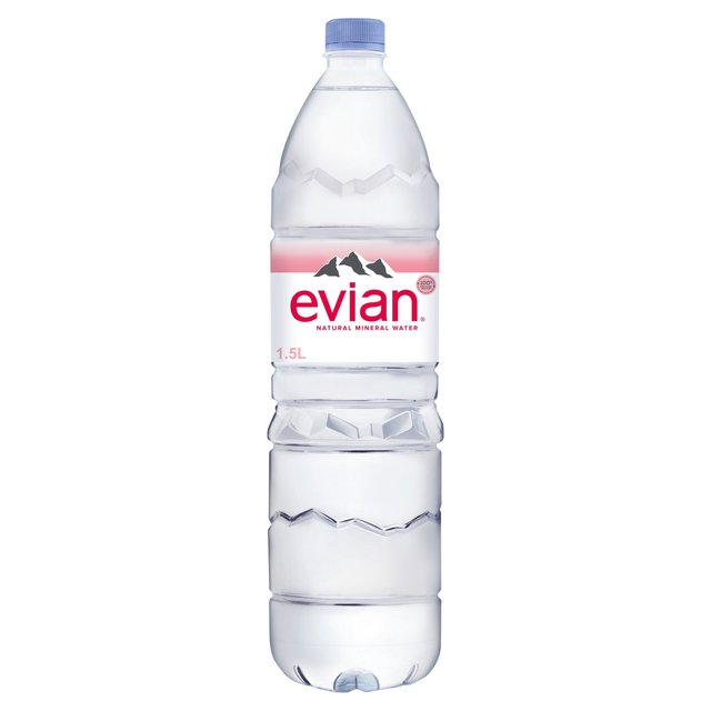 evian still mineral water 1 5l from ocado. Black Bedroom Furniture Sets. Home Design Ideas