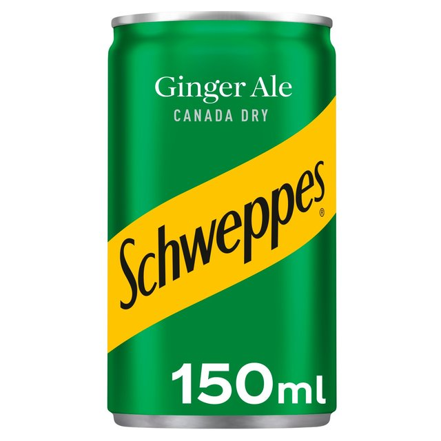 Schweppes Canada Dry Ginger Ale Mini Can