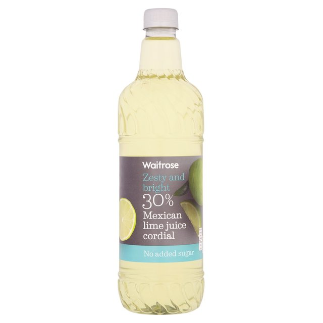 Ocado: Lime Juice Cordial Waitrose 1L(Product Information)