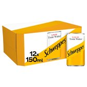 Schweppes Slimline Indian Tonic Water Mini Cans