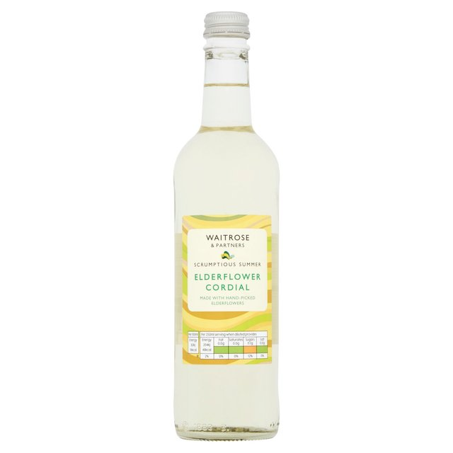 Waitrose Elderflower Cordial 500ml from Ocado