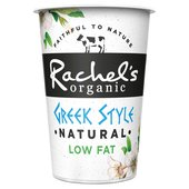 Rachel's Organic Low Fat Greek Style Natural Yogurt