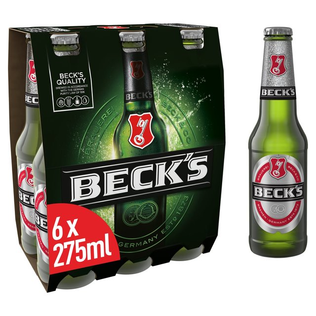 Beck's Beer Bottles