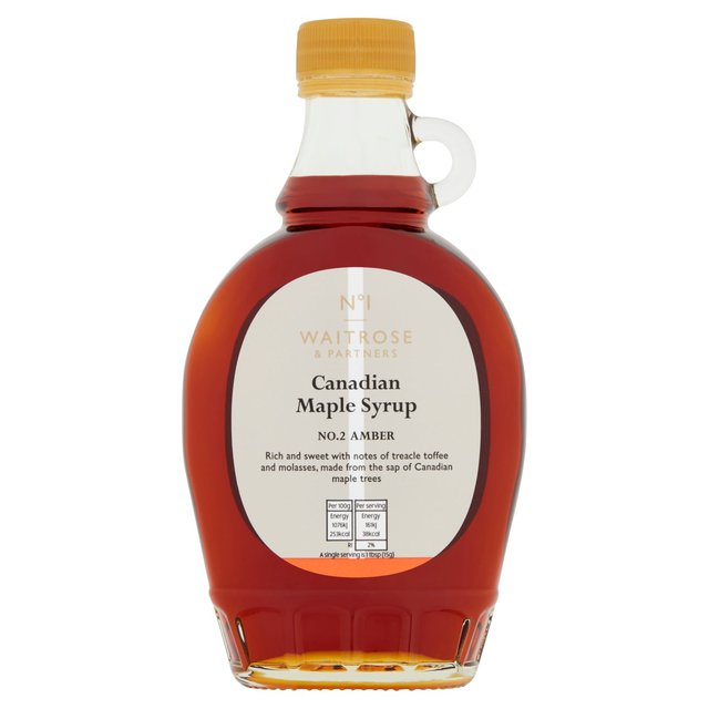 Waitrose 1 Amber No. 2 Maple Syrup