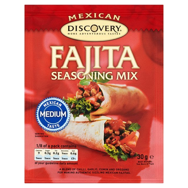 Discovery Mexican Spice Fajita Seasoning Mix