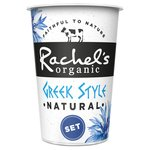 Rachel's Organic Set Greek Style Natural Yogurt
