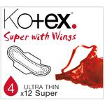 Kotex Ultra Thin Pads Super with Wings