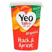 Yeo Valley Organic Peach & Apricot Yogurt