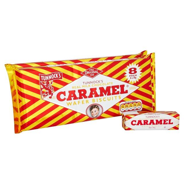 Caramel Wafer Bars Chocolate Caramel Wafers